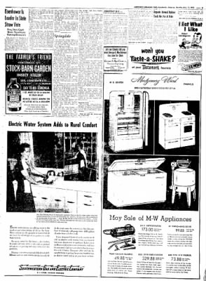 Northwest Arkansas Times from Fayetteville, Arkansas on May 12, 1952 · Page 5