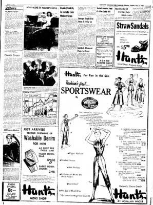 Northwest Arkansas Times from Fayetteville, Arkansas on May 13, 1952 · Page 3