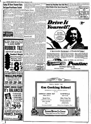 Northwest Arkansas Times from Fayetteville, Arkansas on May 13, 1952 · Page 8