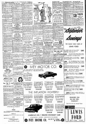 Northwest Arkansas Times from Fayetteville, Arkansas on September 12, 1974 · Page 20
