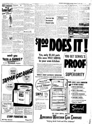 Northwest Arkansas Times from Fayetteville, Arkansas on May 15, 1952 · Page 3