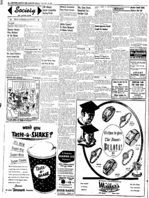 Northwest Arkansas Times from Fayetteville, Arkansas on May 16, 1952 · Page 2