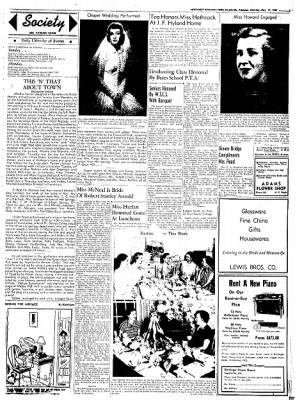 Northwest Arkansas Times from Fayetteville, Arkansas on May 17, 1952 · Page 3
