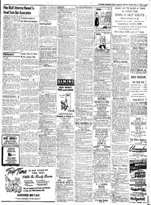 Northwest Arkansas Times from Fayetteville, Arkansas on May 17, 1952 · Page 9