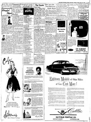 Northwest Arkansas Times from Fayetteville, Arkansas on May 20, 1952 · Page 3