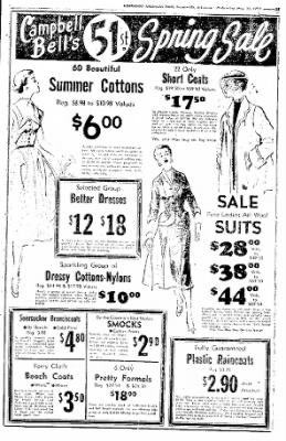 Northwest Arkansas Times from Fayetteville, Arkansas on May 21, 1952 · Page 13