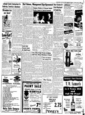 Northwest Arkansas Times from Fayetteville, Arkansas on May 22, 1952 · Page 7