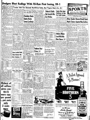 Northwest Arkansas Times from Fayetteville, Arkansas on May 22, 1952 · Page 13