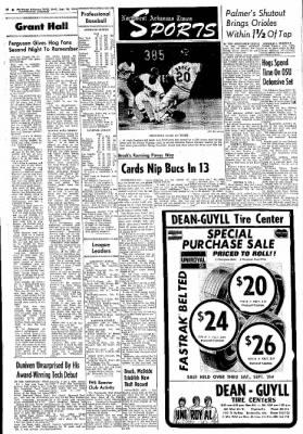 Northwest Arkansas Times from Fayetteville, Arkansas on September 18, 1974 · Page 21