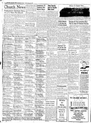 Northwest Arkansas Times from Fayetteville, Arkansas on May 24, 1952 · Page 2