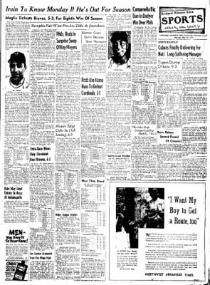 Northwest Arkansas Times from Fayetteville, Arkansas on May 24, 1952 · Page 7