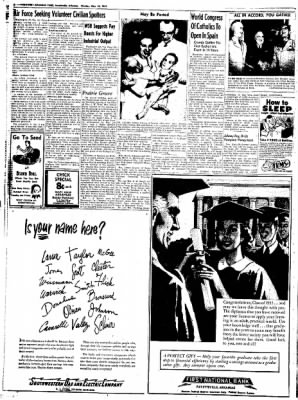 Northwest Arkansas Times from Fayetteville, Arkansas on May 26, 1952 · Page 8