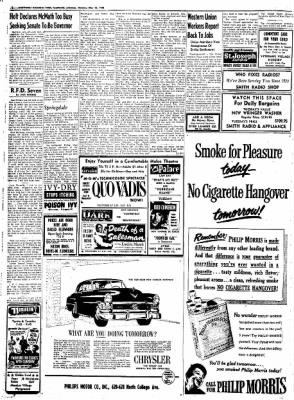 Northwest Arkansas Times from Fayetteville, Arkansas on May 26, 1952 · Page 12