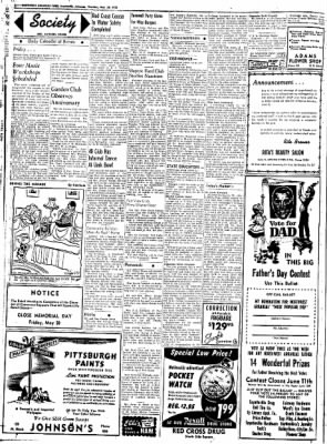 Northwest Arkansas Times from Fayetteville, Arkansas on May 29, 1952 · Page 2