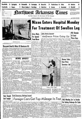 Northwest Arkansas Times from Fayetteville, Arkansas on September 21, 1974 · Page 1