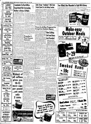 Northwest Arkansas Times from Fayetteville, Arkansas on May 29, 1952 · Page 6
