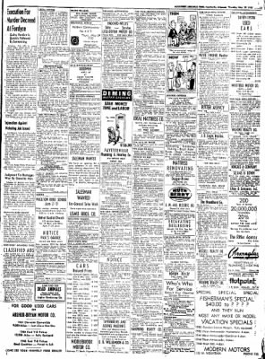 Northwest Arkansas Times from Fayetteville, Arkansas on May 29, 1952 · Page 13