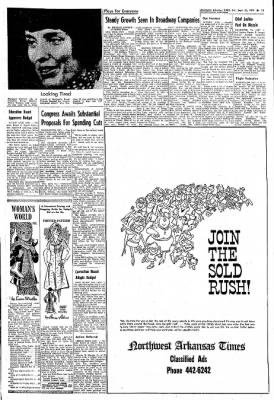 Northwest Arkansas Times from Fayetteville, Arkansas on September 21, 1974 · Page 13
