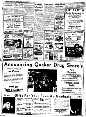 Northwest Arkansas Times from Fayetteville, Arkansas on May 30, 1952 · Page 8