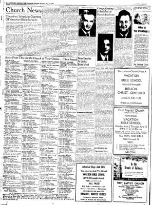 Northwest Arkansas Times from Fayetteville, Arkansas on May 31, 1952 · Page 2
