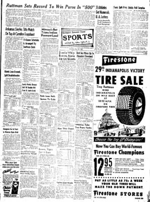 Northwest Arkansas Times from Fayetteville, Arkansas on May 31, 1952 · Page 7