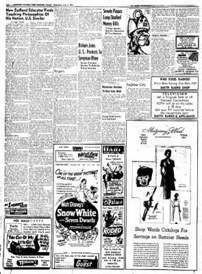 Northwest Arkansas Times from Fayetteville, Arkansas on June 4, 1952 · Page 12