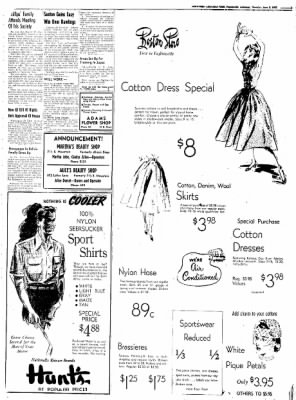 Northwest Arkansas Times from Fayetteville, Arkansas on June 5, 1952 · Page 3