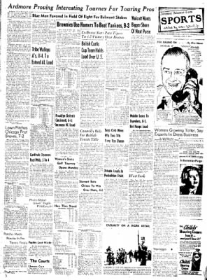 Northwest Arkansas Times from Fayetteville, Arkansas on June 7, 1952 · Page 7