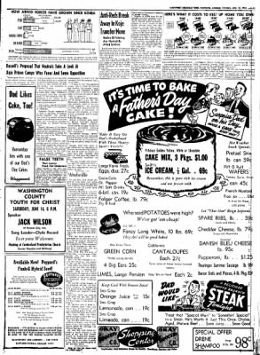 Northwest Arkansas Times from Fayetteville, Arkansas on June 12, 1952 · Page 11