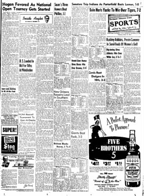 Northwest Arkansas Times from Fayetteville, Arkansas on June 12, 1952 · Page 13