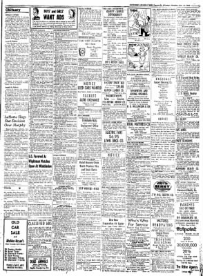 Northwest Arkansas Times from Fayetteville, Arkansas on June 12, 1952 · Page 15