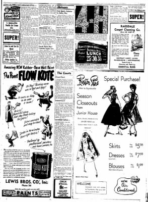 Northwest Arkansas Times from Fayetteville, Arkansas on June 13, 1952 · Page 3