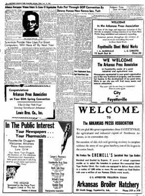 Northwest Arkansas Times from Fayetteville, Arkansas on June 13, 1952 · Page 12