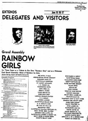 Northwest Arkansas Times from Fayetteville, Arkansas on June 14, 1952 · Page 7
