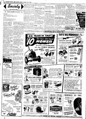 Northwest Arkansas Times from Fayetteville, Arkansas on June 19, 1952 · Page 2