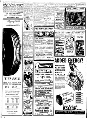 Northwest Arkansas Times from Fayetteville, Arkansas on June 19, 1952 · Page 16