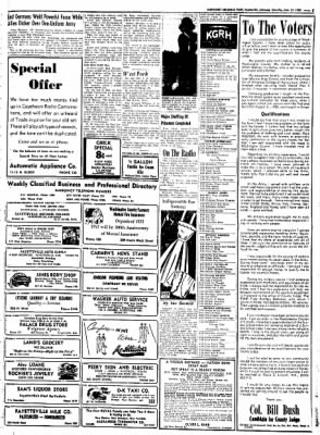 Northwest Arkansas Times from Fayetteville, Arkansas on June 21, 1952 · Page 5