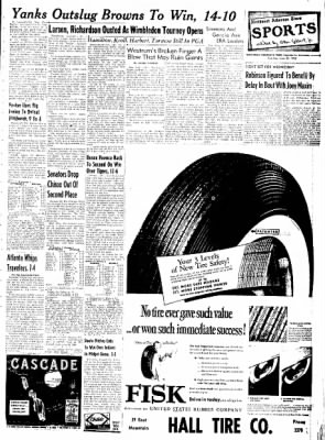 Northwest Arkansas Times from Fayetteville, Arkansas on June 24, 1952 · Page 9