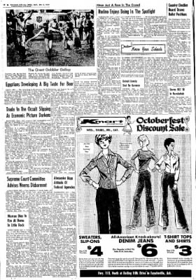 Northwest Arkansas Times from Fayetteville, Arkansas on October 2, 1974 · Page 16