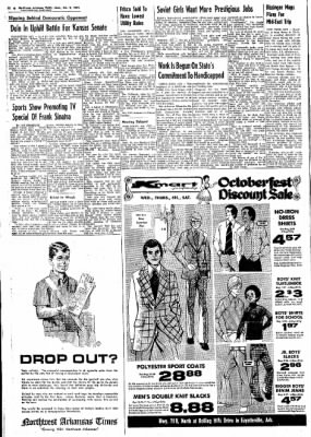 Northwest Arkansas Times from Fayetteville, Arkansas on October 2, 1974 · Page 19