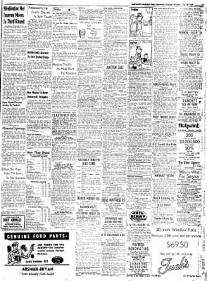 Northwest Arkansas Times from Fayetteville, Arkansas on June 26, 1952 · Page 15