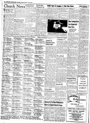 Northwest Arkansas Times from Fayetteville, Arkansas on June 28, 1952 · Page 2