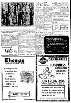 Northwest Arkansas Times from Fayetteville, Arkansas on October 3, 1974 · Page 3