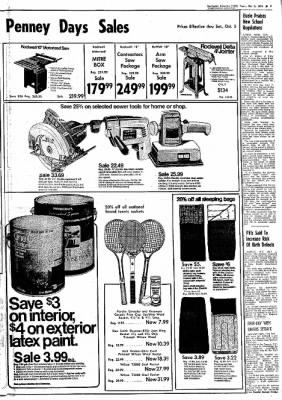 Northwest Arkansas Times from Fayetteville, Arkansas on October 3, 1974 · Page 7