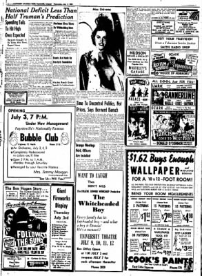 Northwest Arkansas Times from Fayetteville, Arkansas on July 2, 1952 · Page 12