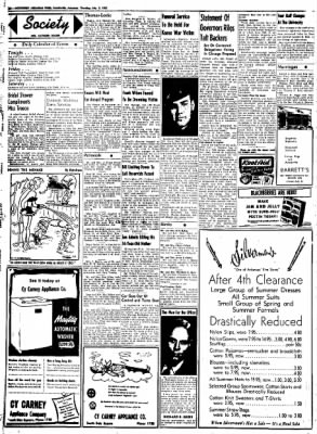 Northwest Arkansas Times from Fayetteville, Arkansas on July 3, 1952 · Page 2