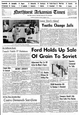 Northwest Arkansas Times from Fayetteville, Arkansas on October 5, 1974 · Page 1