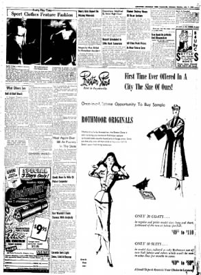 Northwest Arkansas Times from Fayetteville, Arkansas on July 7, 1952 · Page 3