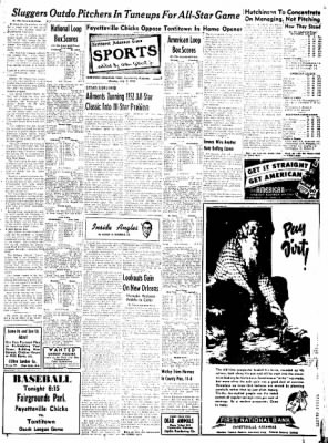 Northwest Arkansas Times from Fayetteville, Arkansas on July 7, 1952 · Page 7