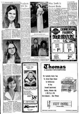 Northwest Arkansas Times from Fayetteville, Arkansas on October 6, 1974 · Page 8
